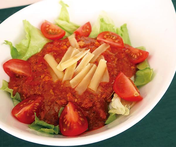 完熟トマトのタコライス