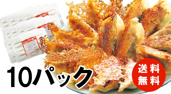 メガ盛り!黒豚生餃子150個!